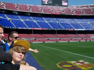 Stadion in Barcelona