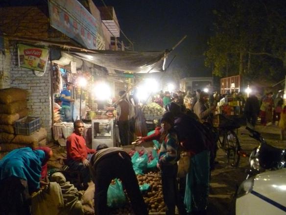 Basar in Old Delhi